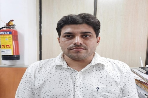 Photo of wanted criminal Sonu Pathan arrested by NCB in Mumbai in drugs case. (Photo by special arrangement.)
