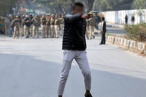 File photo of the teen who opened fire in Jamia during the anti-CAA protest.