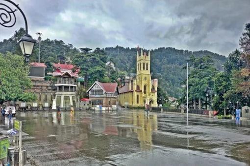Himachal Pradesh Witnesses Heavy Rain, Thunderstorms; Yellow Alert from July 7 to 9