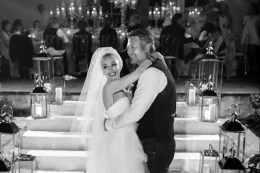 Gwen Stefani and Blake Shelton Share Dreamy Pictures From Their Wedding