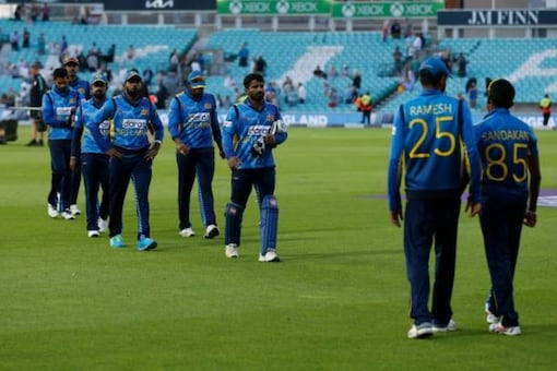 Sri Lanka are returning home from a disappointing tour of England (AFP Photo)