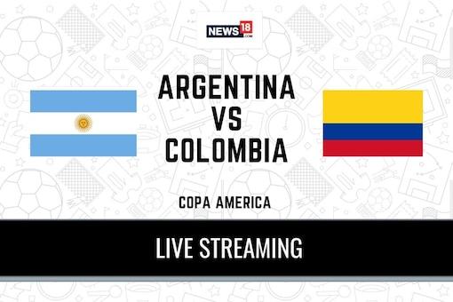 Copa America 2021 Argentina vs Colombia