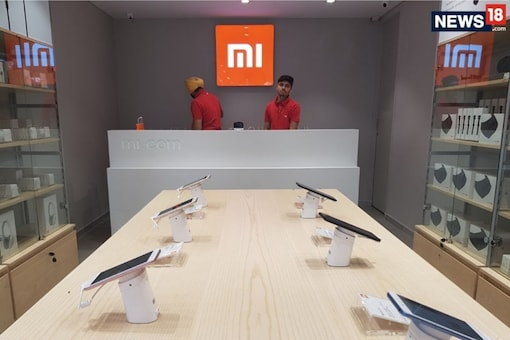 An image from a Xiaomi Mi Home store.