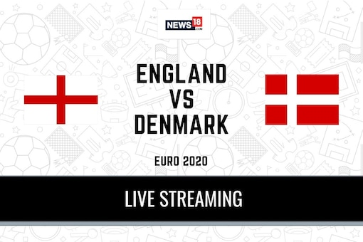 UEFA Euro 2020 England vs Denmark