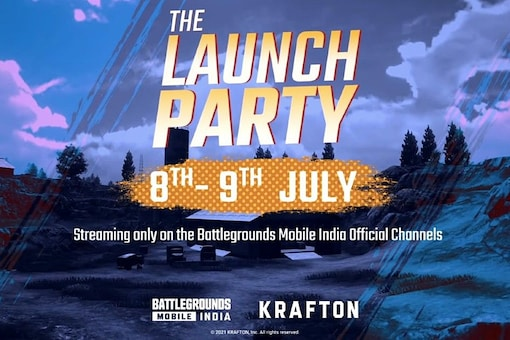 BGMI Launch Party Event by Krafton Offers 6 Lakh Prize Pool, Starts July 8