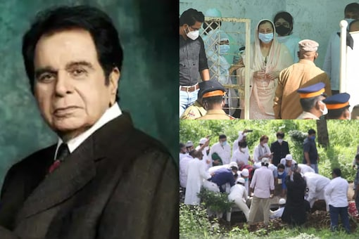 Dilip Kumar Funeral: Legendary Actor Buried at Juhu Kabristan; Bollywood Pays Tributes