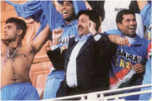 Who can forget visuals of Ganguly waving his jersey from the Lord's balcony after beating the English side?