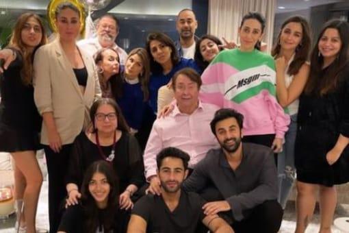 Neetu Kapoor Celebrates Birthday with Ranbir Kapoor and Alia Bhatt, Nieces Karisma and Kareena Kapoor Also Attend