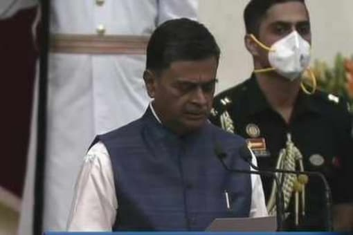 RK Singh took oath as Union Cabinet Minister on July 7. (Photo: ANI)