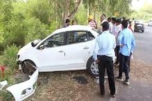 2 Killed After Speeding Car Rams into Milestone in Haryana's Hisar