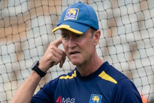 Sri Lanka batting coach Grant Flower has tested positive for Covid-19.