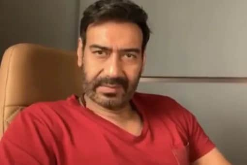 Ajay Devgn Looks Unrecognisable With White Hair And Beard, Photo Goes Viral