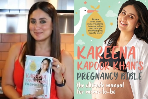 Kareena Kapoor Khan announces book on her pregnancy.