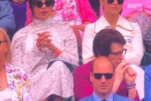 Priyanka Chopra Enjoys Wimbledon Finals with Kate Middleton, Prince William