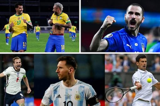 Copa America, Wimbledon and Euro 2020 (IANS and AP)
