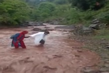 Healthcare Workers Cross River to Conduct Covid-19 Vaccination in J&K Village