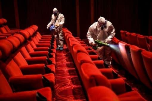 Representative image of a cinema hall. (AFP)
