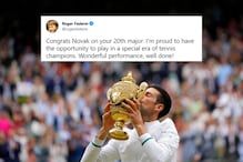 Proud to Have Played in a Special Era of Tennis: Federer to Djokovic after 20th Grand Slam at Wimbledon