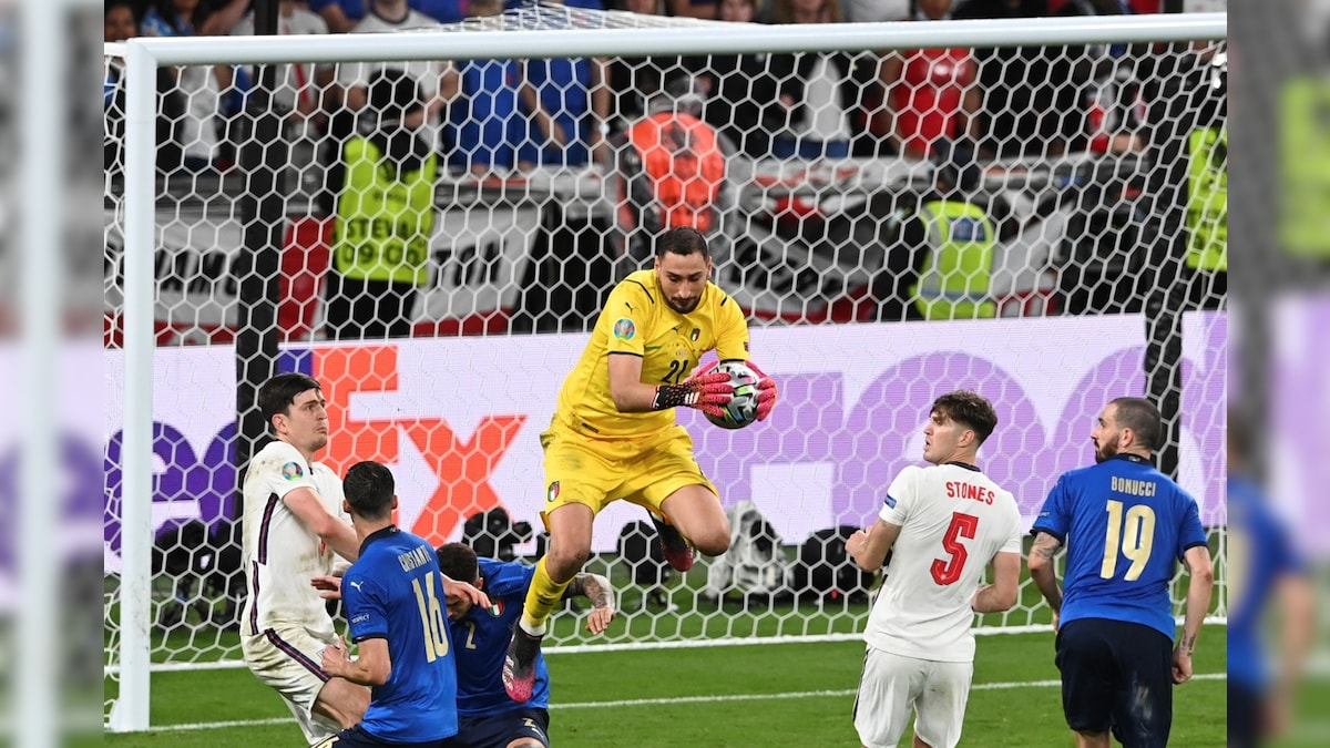 Another Gianluigi Makes Italy's Key Saves in Euro 2020 Final