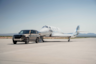 Land Rover Defender Tows Virgin Galactic's Fully Crewed SpaceShipTwo Space Flight