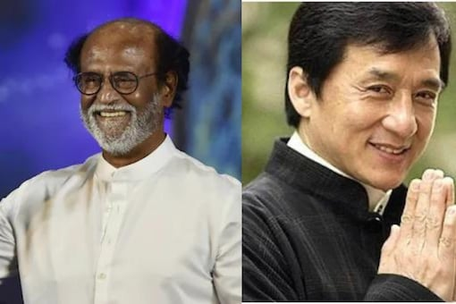 Rajnikanth and Jackie Chan.
