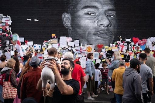 Marcus Rashford's Mural (Twitter)