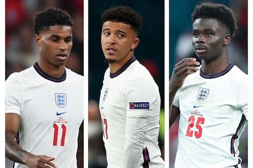 Bukayo Saka, Marcus Rashford and Jadon Sancho were racially abused for England loss at the Euro 2020 (Instagram)