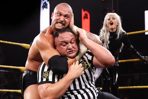 Karrion Kross and Samoa Joe (WWE)
