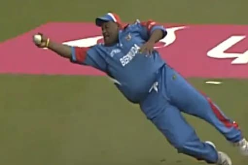 Watch: When 127-Kg Bermuda Cricketer Took Diving Catch To Dismiss Robin Uthappa