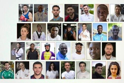IOC refugee team for Tokyo Olympics will start arriving on Sunday. (Photo Credit: IOC)