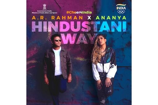 The song is named 'Cheer4India: Hindustani Way'. (Photo Credit: Ananya Birla Twitter)