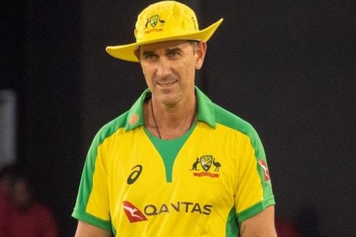 Australia coach Justin Langer.