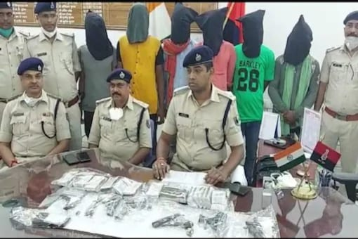 6 Held For Rs 7 Lakh Bank Heist In Bihar, Mastermind On The Run