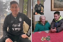 Lionel Messi Surprises 100-year-old Super Fan with Video Message   Watch