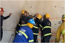 Firefighters Rescue Woman Trapped Between Two Buildings in California, Watch Video