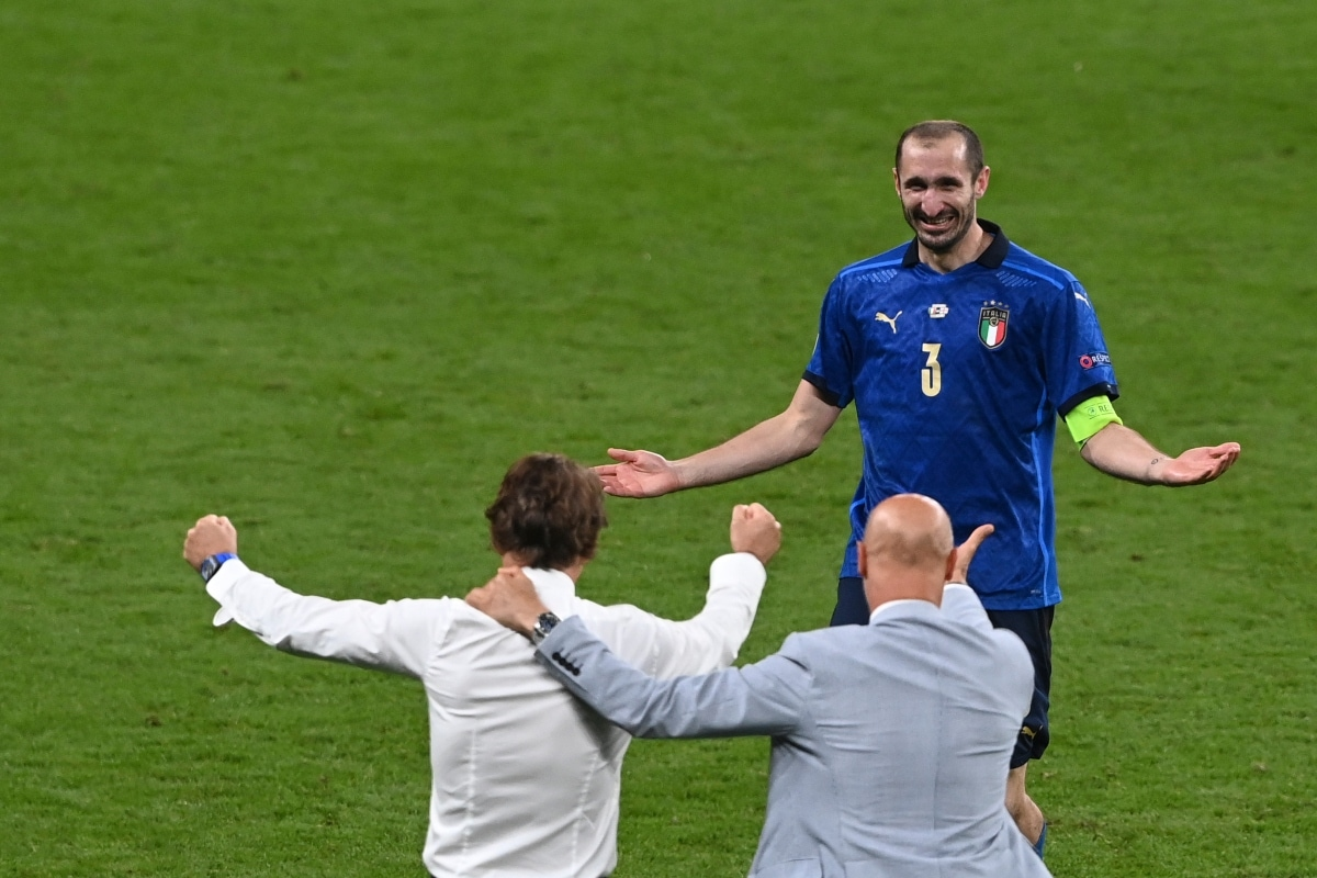Chiellini's Claims He Put 'Kiricocho' Curse on Bukayo Saka Before Euro 2020 Final Penalty