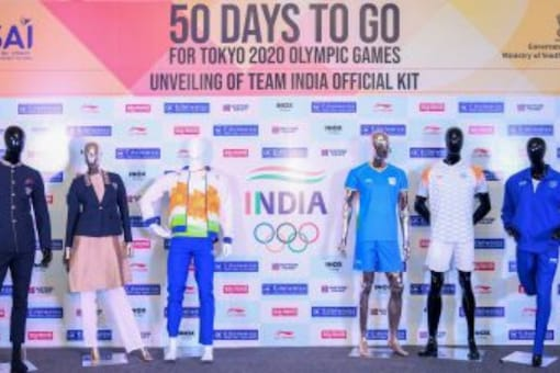 India official kit for Tokyo Olympics (Twitter)