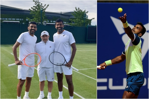 Sumit Nagal has been paired with Rohan Bopanna by AITA (Twitter)