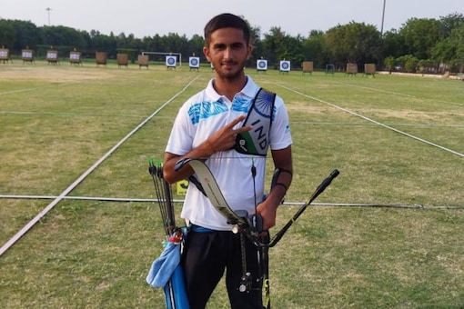 Amit Kumar booked his spot in the national archery team for World Youth Archery & Cadet Championship (Twitter)