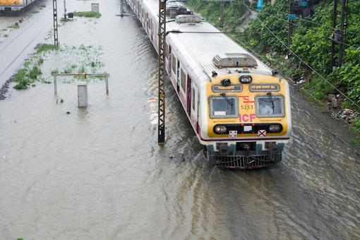 The Friday morning's rain was concentrated largely over the western suburbs and parts of central Mumbai.