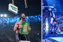 WWE SmackDown Results:  Seth Rollins Wins Fatal 4-Way Ahead of Money in the Bank Ladder Match, Finn Balor Returns | In Pics