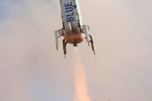 The Blue Origin spaceflight is set to launch on July 20. Credit: Twitter/@blueorigin