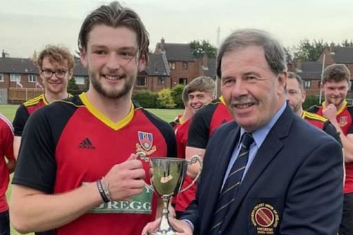 Northern Irish cricket club Cregagh had all but won Thursday's LVS Twenty20 Trophy final with its opponent Ballymena needing 35 runs off the final over before John Glass decided to take centre stage.