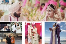 From Elina Svitolina to Shivam Dube, Sportspersons Who Have Recently Tied the Knot   In Pics