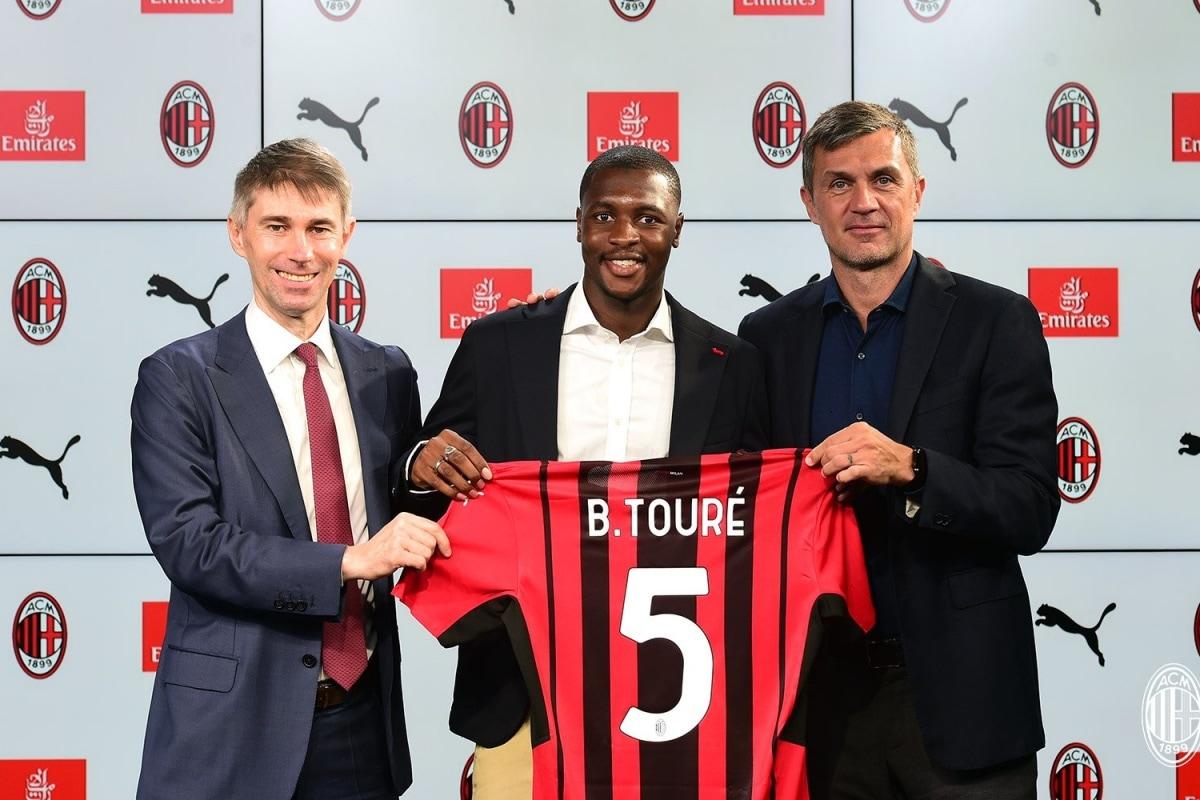 Italian Giants AC Milan Sign Senegalese Footballer Fode Ballo-Toure from AS Monaco