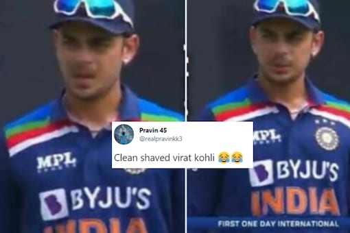 Virat Kohli was also 'present' in the First ODI against Sri Lanka in Colombo on Sunday and this hilarious tweet by a cricket fan is proof. (Tweeted by @realpravinkk3)