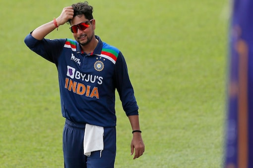 Kuldeep Yadav showed some glimpse of form as he grabbed a couple of wickets.