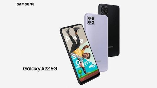 Samgung Galaxy A22 5G comes with triple rear cameras.