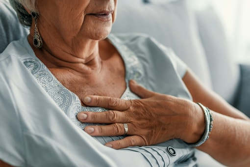 Almost half, 48 percent of women who survived a heart attack said they felt sleep disruption up to a month before the event.