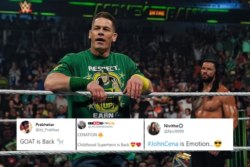 John Cena made a return at Money in the Bank (Twitter)